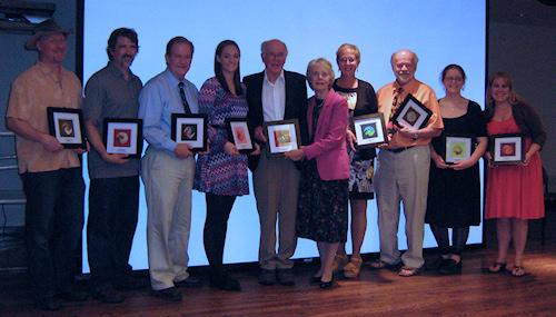 Winners of Marquette Arts Award 2012