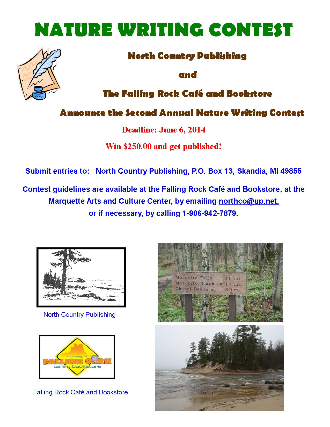 2014 Nature Writing Contest Poster