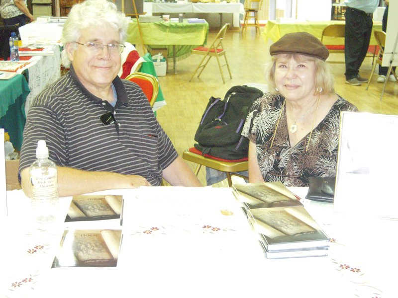 Kim Allen Wright, author of The Book, and his wife Sue Wright.
