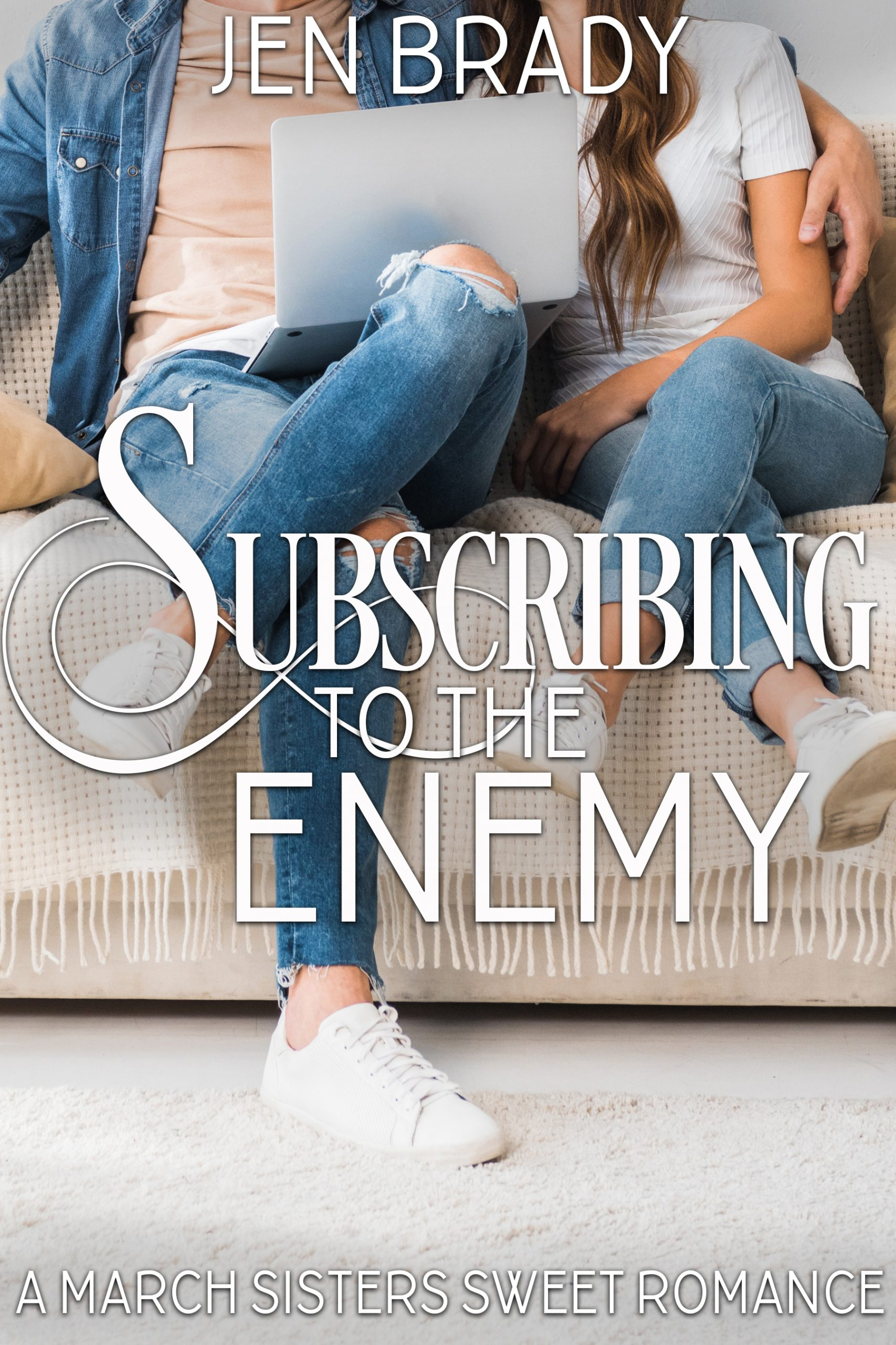 Subscribing to the Enemy (March Sisters Sweet Romance 1) Image